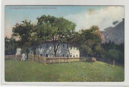 Erholungsheim Bad Gerhardthof Wildermieming Old Postcard Not Posted B200310 - Sonstige
