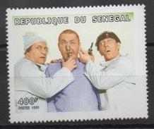 Sénégal 1999 - Mi. 1887    400 F The Three Stooges Neuf ** MNH RARE Scarce - Senegal (1960-...)