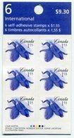 RC 11402 CANADA 2006 FLEURS FLOWERS CARNET BOOKLET FLEURS MNH NEUF ** - Ganze Markenheftchen