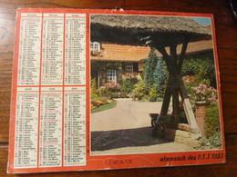 Almanach Des P.T.T. - 1983 - Le Torrent - Boubers Sur Canche 62 - Calendriers