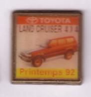 L198 Pin's TOYOTA  LAND CRUISER 4X4 92  Achat Immédiat - Toyota