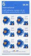 RC 11422 CANADA 2005 FLEURS FLOWERS CARNET BOOKLET MNH NEUF ** - Ganze Markenheftchen