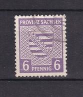 Provinz Sachesen - 1945 - Michel Nr. 76 Y A - BPP Geprüft - Gest. - Sowjetische Zone (SBZ)