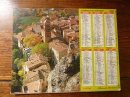 Almanach Des P.T.T. - 1992 - Moustiers Ste Marie (04) - La Couvertoirade (12) - Calendriers
