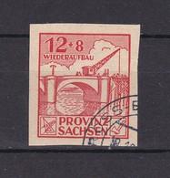 Provinz Sachesen - 1946 - Michel Nr. 88 B - Gest. - 25 Euro - Sowjetische Zone (SBZ)