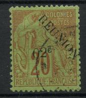 Reunion (1891) N 29 (o) - Réunion (1852-1975)