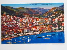 Carte Postale : MONACO : La Condamine Et Le Port - La Condamine