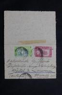 CÔTE DES SOMALIS - Carte Lettre De Djibouti Pour Hanoï ( Indochine ) En 1919, Affranchissement Plaisant - L 54962 - Côte Française Des Somalis (1894-1967)