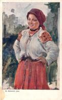 Pologne - Femme Polonaise (Illustratuer St. Batowski) - Polen