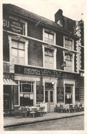 RPCP : Scherpenheuvel : Spijs En Koffiehuis SAINT-PIERRE Café Restaurant.  Bieren VAN TILT , Foto Van Oude Postcard; - Plaatsen