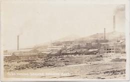 Carte Photo Mine Washoe Smelter Anaconda - Anaconda