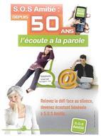 S.O.S. Amitié Depuis 50 Ans L'écoute A La Parole--( Cart COM Eco )--voir 2 Scans - Santé