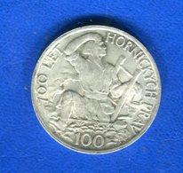 Tcécoslovaquie  100  Koru 1949  Arg - Tchécoslovaquie