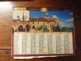Almanach Du Facteur. - 2000 - Bordeaux, Le Pont De Pierre Sur La Garonne - Loubressac (46) - - Calendriers