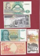 Pays Du Monde 10 Billets ---UNC---lot N °6 - Monnaies & Billets