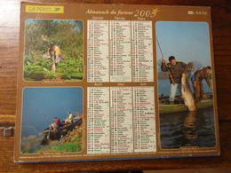 Almanach Du Facteur. - 2003 - Chasse Au Lièvre, Au Gibier D'eau, Sanglier - Pêche Au Brochet, Au Silure, Au Coup - Calendriers