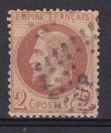 France N°26 (2c Rouge Brun Napoleon III Lauré) CIP Dans Losange - 1863-1870 Napoléon III Lauré