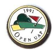 GOLF - G31- 1991 - OPEN UAP - Verso : SM - Golf