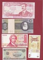 Pays Du Monde 10 Billets ---UNC---lot N °10 - Monnaies & Billets