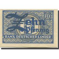 Billet, République Fédérale Allemande, 10 Pfennig, 1948, KM:12a, SPL - [ 7] 1949-… : RFD - Rep. Fed. Duitsland