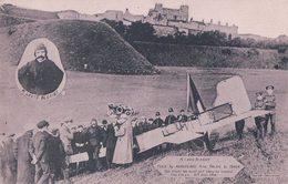 Aviation, La Traversée De La Manche, Arrivée à Douvres De Louis Blériot Venant De Calais à Bord De Son Aéroplane (1909) - ....-1914: Précurseurs