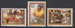 Guinée Guinea 1997 Mi. A1708 C1708 D1708 50 Years UNICEF 50 Jahre 50 Ans Enfance Childhood Kinder RARE !! - Guinea (1958-...)