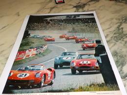 ANCIENNE PUBLICITE EPROUVEE AU MANS 1963 - Automobile - F1