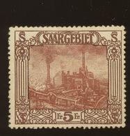 SAAR Yv.100*  Cote 32,-€  Aminci - Neufs