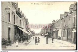 CPA Janze La Rue De Pire - France