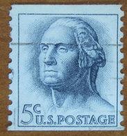 1962 USA Stati Uniti  Georges Washington - 5 C Usato - Stati Uniti