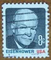 1970 USA Stati Uniti  Eisenhower - 8 C Usato - Stati Uniti