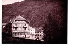 """Photo Originale """"Hôtel De La Poste"""" à Identifier.  Valais ? - Places"""