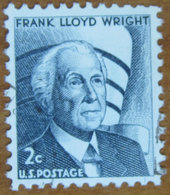 1965 USA Stati Uniti  Frank Lloyd Wright  Architetto  - 2 C Usato - Stati Uniti