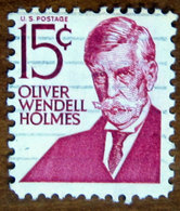 1967 USA Stati Uniti  Oliver Wendell Holmes  - 15 C Usato - Stati Uniti