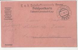 Austria WWI Feldpost Postcard Posted 1916 K.u.k. Bahnhofkommando Drvar B200310 - Bosnie-Herzegovine