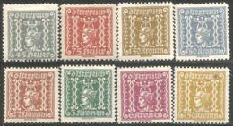 154 Austria 1919 Mercury Mercure Newspaper Journaux MNH/MH **/* Neuf SC/CH (AUT-503) - Journaux