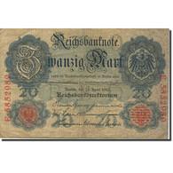 Billet, Allemagne, 20 Mark, 1910, 1910-04-21, KM:40b, TB - [ 3] 1918-1933: Weimarrepubliek