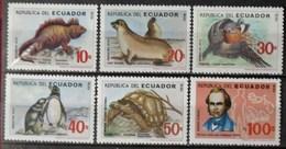 Ecuador 1986 Galapagos ** MNH (6 Stamps) - Equateur