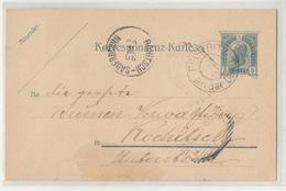 Austria Postal Stationery Postcard Posted 1905 Feistritz (Bistrica Na Dravi) To Rohitsch-Sauer (Rogaška Slatina) B200310 - Slovenia