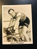 Hans Preiskeit  Geboren In Breslau 1920  Cyclisme Radrennen Radsport  Cycling Velo Radfahrer - Cyclisme