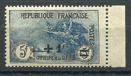 RC 15952 FRANCE COTE 350€ N° 169 5F ORPHELIN SURCHARGÉ BORD DE FEUILLE NEUF ** MNH TB - France