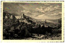 Alt-Heidelberg Mit Schloss - Heidelberg