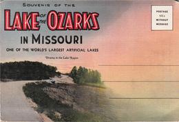 Vintage 1945-1950 - Lake Of The Ozarks In Missouri - Souvenir Folder With 18 Views - Unused - Etats-Unis