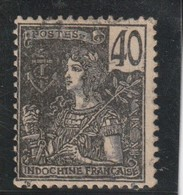 IINDOCHINE 1904-06  N° 34 Oblitéré - Usados