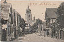 Gross. Gerau - Hellwig - Strasse - Kirche - Gross-Gerau