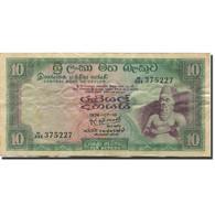 Billet, Ceylon, 10 Rupees, 1974-1976, 1974-07-16, KM:74b, TTB - Sri Lanka