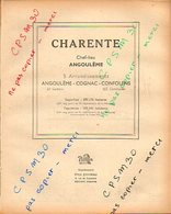 ANNUAIRE - 16 - Département Charente - Année 1947 - édition Didot-Bottin - 106 Pages - Annuaires Téléphoniques