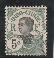 INDOCHINE 1907 Centre Et Valeur En Noir   N° 44 Oblitéré - Usados
