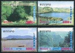 346 - Laos 2010  YT 1761-64 ; Mi# 2157-60 **  MNH   Landscapes - Laos