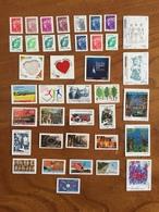 ADHESIFS DE FEUILLE - Année 2011 Complète : Marianne, Galante, Etc. (39 Timbres PRO) - Neufs ** - France